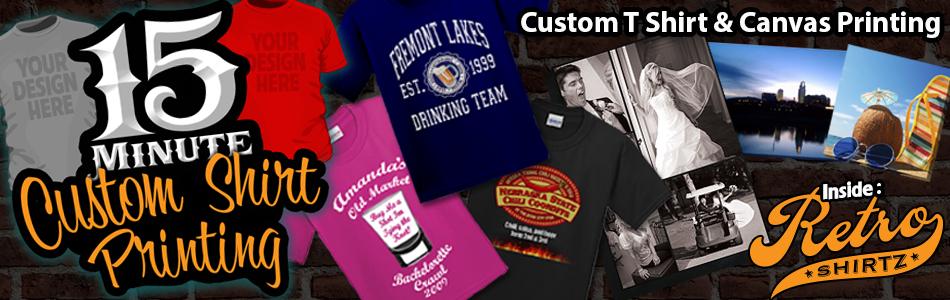 Custom T-shirts Omaha printing and design