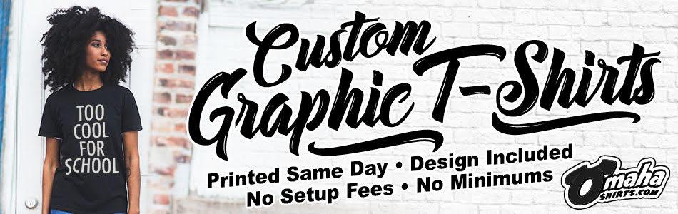 custom shirts omaha screen printing