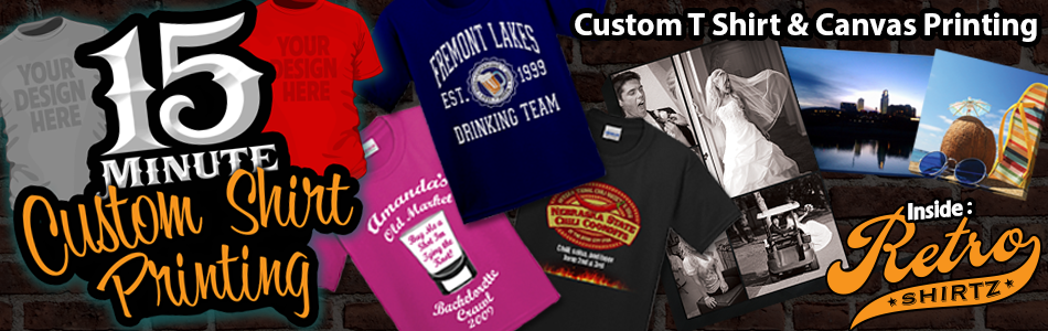 Custom T-shirts Omaha printing and design