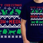 Kitty Christmas t-shirt