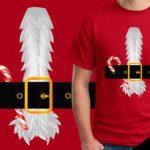 Santa Belt tshirt