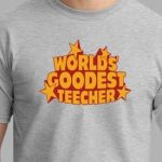 Best teacher custom t-shirts