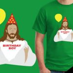 Jesus birthday boy tshirt