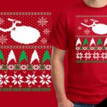 Deer Christmas Tshirt