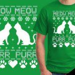 Cat Meow Purr Tshirt