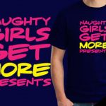 Naughty girls t-shirt