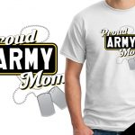 Veteran's Day T-shirts Army Mom