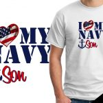 Veteran's Day T-shirts Navy Son
