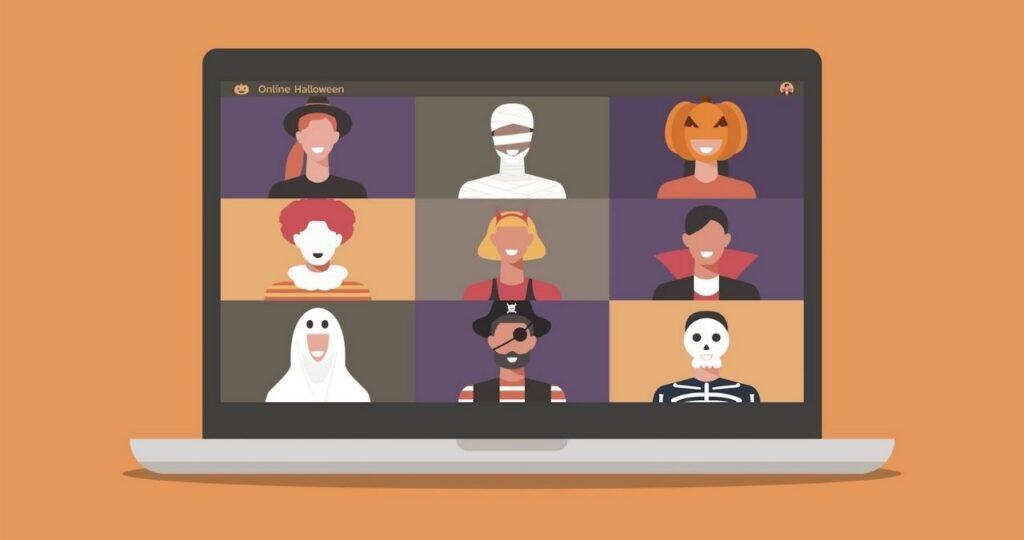 Zoom Halloween Costume